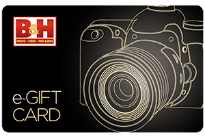 B & H Gift Card Wishlist