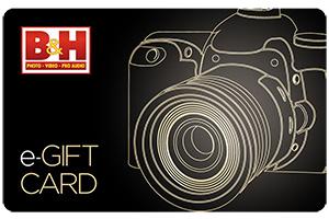 B & H Gift Card Wishlist